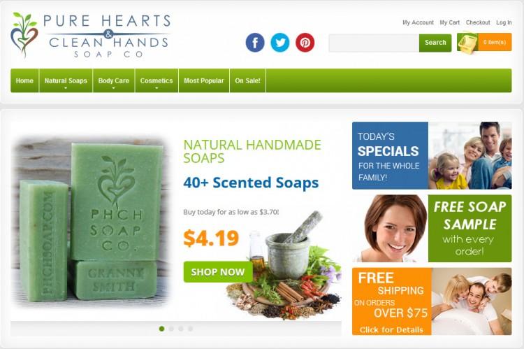 PHCH Natural Soap