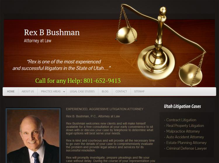 Rex B. Bushman –  Attorney